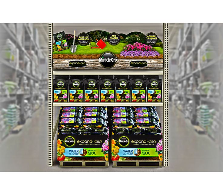 scotts miracle gro display - Google Search