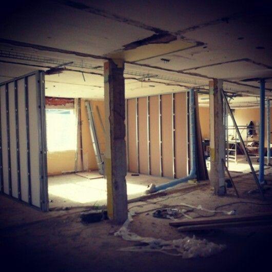 #HotelLuise #WorkInProgress 2014 renovation