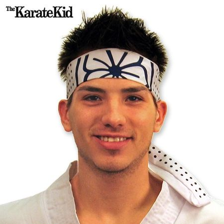 Karate Kid Headband now available from http://www.karatemart.com