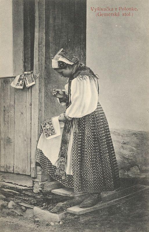Pavol Socháň - Vyšívačka v Polomke