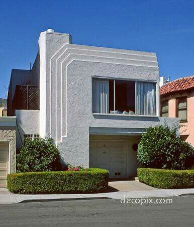 Good Art Deco House, San Francisco, Richmond District