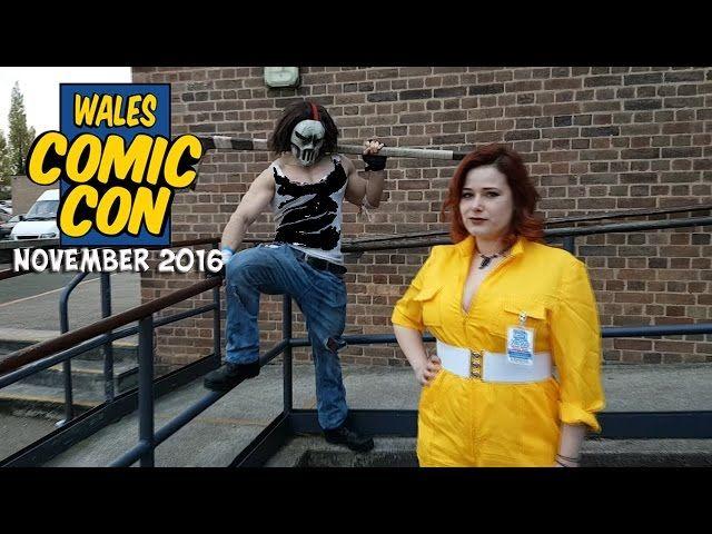 Wales Comic Con Nov 2016 - Video --> http://www.comics2film.com/wales-comic-con-nov-2016/  #Cosplay