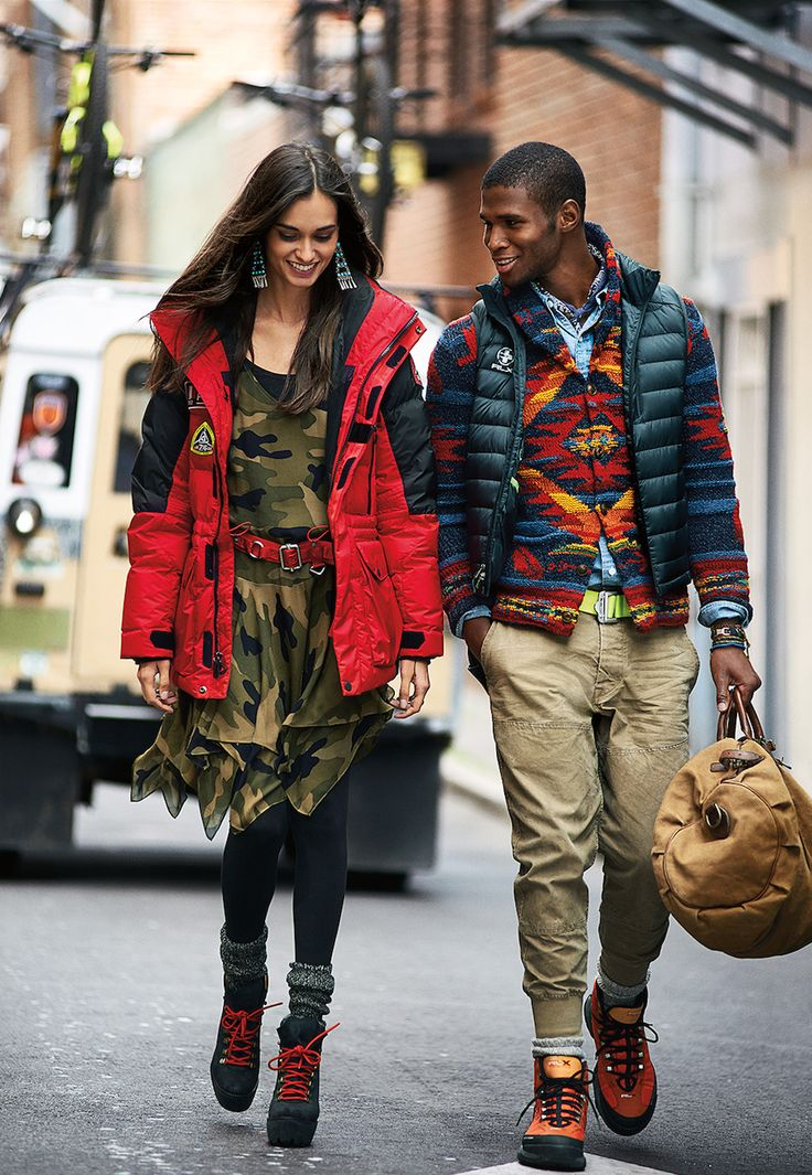 Saturday stroll with #PoloRalphLauren. Shop seasonal prints: http://rlauren.co/1S3bf3Y