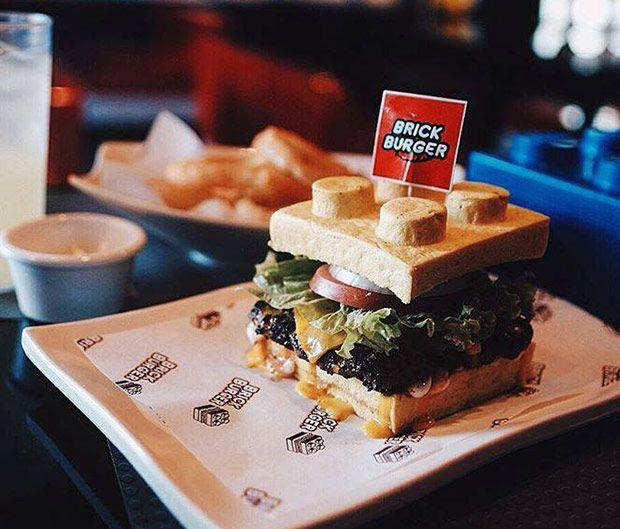 'Brick Burger', las hamburguesas Lego que triunfan en Internet   La Gulateca