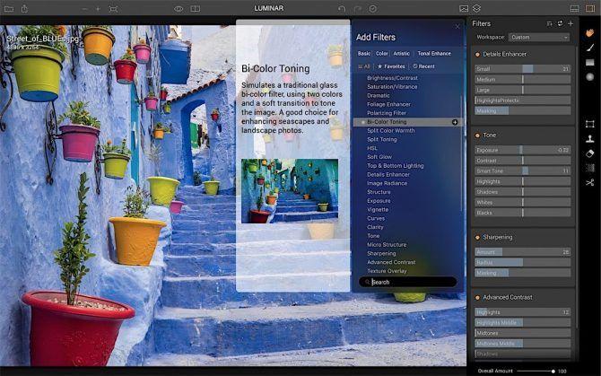 TRY IT FREE NOW LUMINAR Photo Editing App