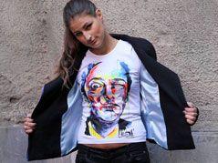 Футболка Дали (мужская) | Trip-O-Nation интернет магазин - модная клубная молодежная одежда и футболки оптом и в розницу