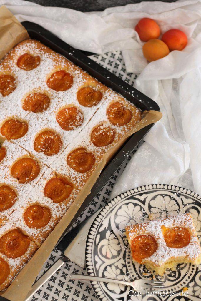 Einfacher Aprikosenkuchen mit Joghurt – Aprikosenkuchen vom Teller