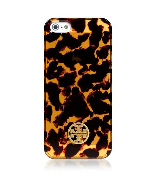 Who knew an iPhone case could be so chic and sexy!? I just LOVE this Tory Burch Tortoise Hardshell case for the iPhone 5! Now I just have to get myself an iPhone! |Womens Tech Accessories ToryBurch.com|