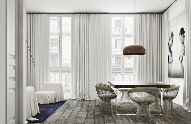 An elegant and minimalist apartment in Barcelona | desiretoinspire.net | Bloglovin'