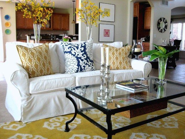 Schöne Weiße Couch Wohnzimmer Ideen | Weiße couch wohnzimmer