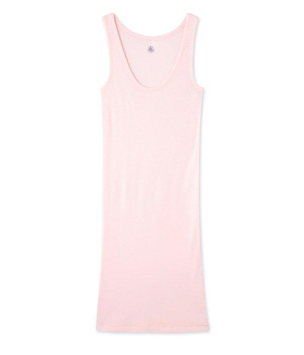 Nuisette femme en coton ultra light - Ancienne collection Petit Bateau rose