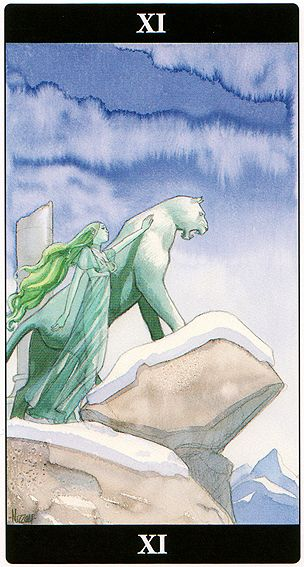 Strength - Tarot of the Dream Enchantress
