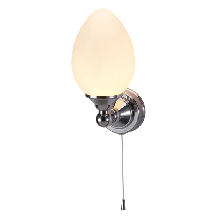 Edwardian Single Eliptical Light With Pull Cord Badrumslampa Badrumsbelysning Vaggbelysning