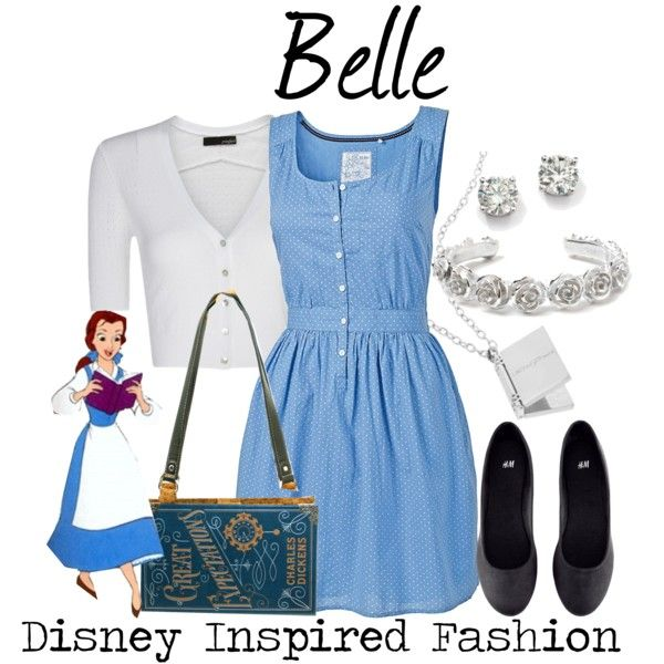 """""""Belle - from Disney's Beauty and the Beast"""" by elliekayba on Polyvore"""