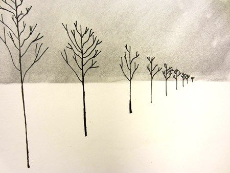 Check out student artwork posted to Artsonia from the Winter One Point Perspective project gallery at Cedar Creek Elementary.