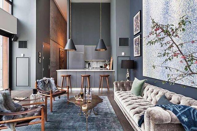 WEBSTA @ reloft_official - Подробнее на нашей страничке Фейсбук  Reloft. Великолепный лофт в модном районе Нью Йорка с множеством интересных деталей.... #лофт #loft #industrial #дизайнинтерьера #интерьер #дизайнер #стиль #interiordesign #interior