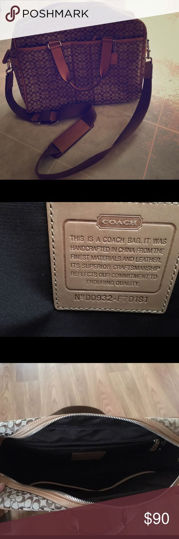Coach travel bag! Pristine condition! Rarely used! Coach Bags Travel Bags