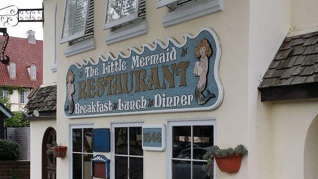 Little Mermaid Restaurant, Solvang, CA