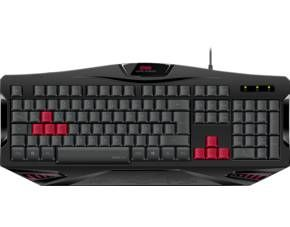 Gaming-Tastatur mit USB-Anschluss  Stylisches Desi...
