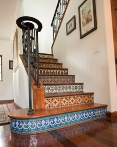 Using Tile on the Stairs: Tips from Mosaic Tile & Stone