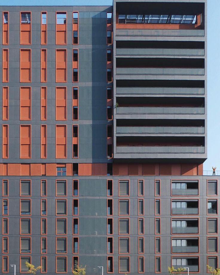 Sancho de Ávila 15 residential building | Valls i Musquera Architecture | 2015 | Barcelona #Barcelona #architecture  by stoptheroc