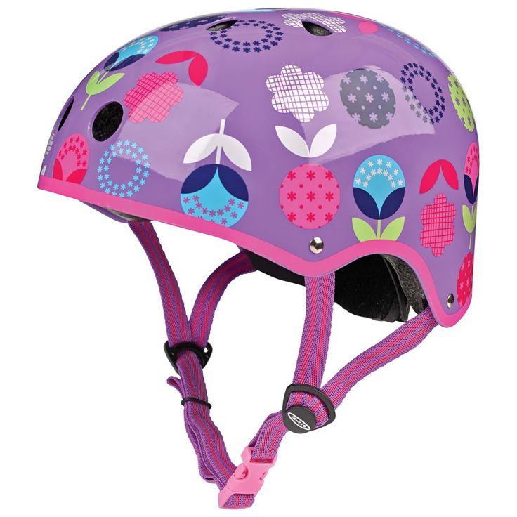 Micro Scooter Helmet Floral Dot | JoJo Maman Bebe