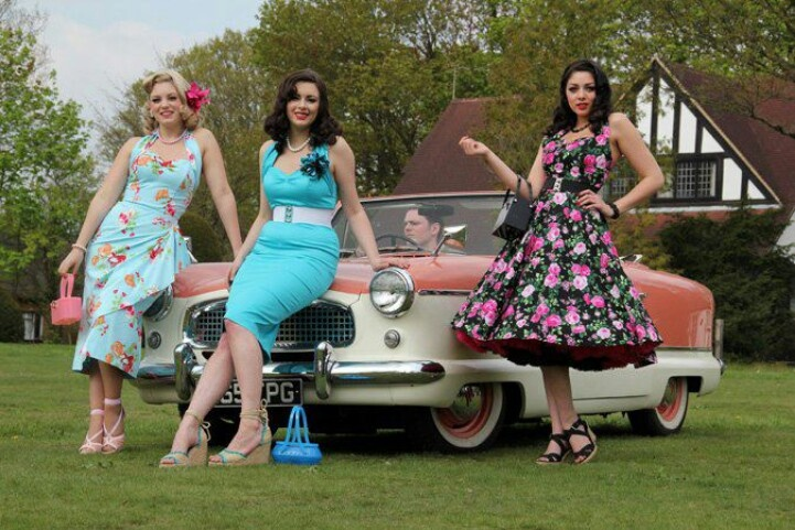 Lovely ladies 1950s wedding guest attire rockabilly for 1950s wedding guest dresses