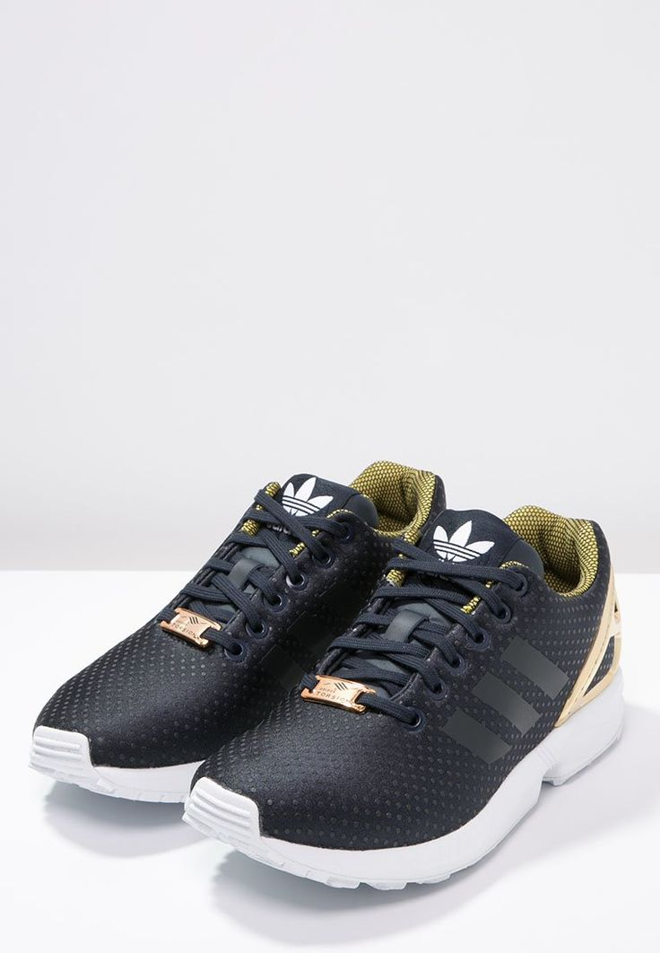 adidas zx flux gold metallic