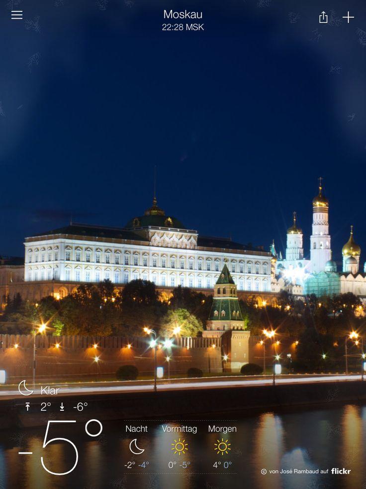 Moskau Wetter