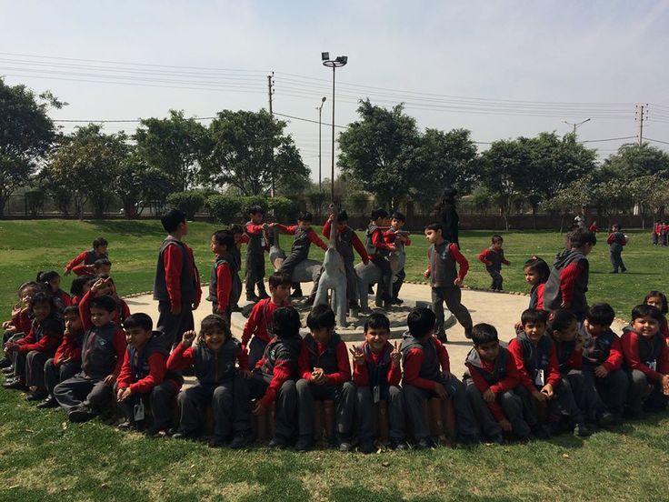 GIS students of Pre Primary visit the Huda Park, Sonipat, Haryana.