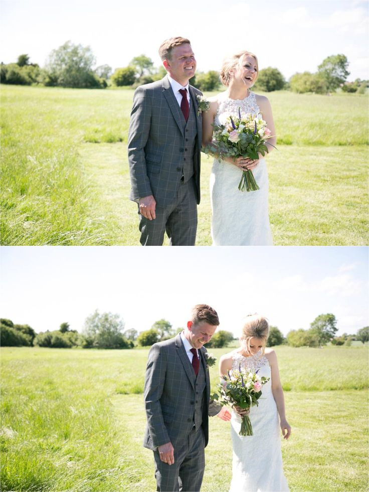 Outdoor ceremony at Reid Rooms spring wedding | Jo + Ben, fun relaxed wedding photography essex