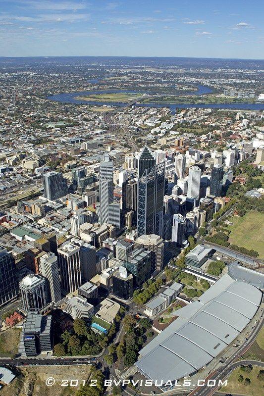 Aerial view. Perth 29