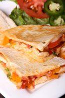 Healthy Lunch Recipes: Chicken Quesadilla - weightloss.com.au