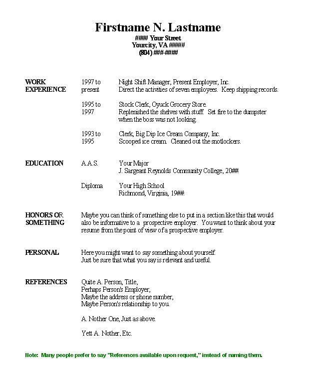Gfyork Com Chronological Order Resume Template Resume Example Reverse 8b7515a5 Free Printable Resume Templates Free Printable Resume Free Resume Template Word