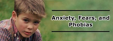 Help your child cope with #anxiety, #fears and #phobias