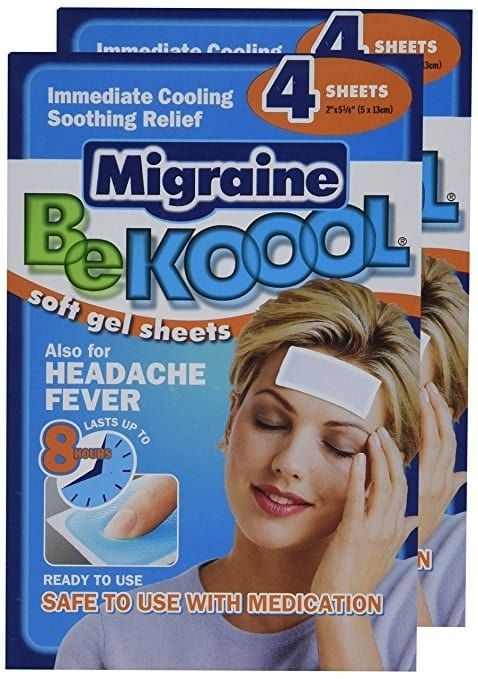 "Promising review: ""These babies absolutely rock my world. They're more effective at reducing my migraine pain than any medication and more reliable, too. I just wish there was a way to wear them outside without looking like I have a head wound. They make it so much easier to function when I have a migraine."" —J. AndersonGet a pack of four sheets from Amazon for $9.71 or Jet for $13.11."