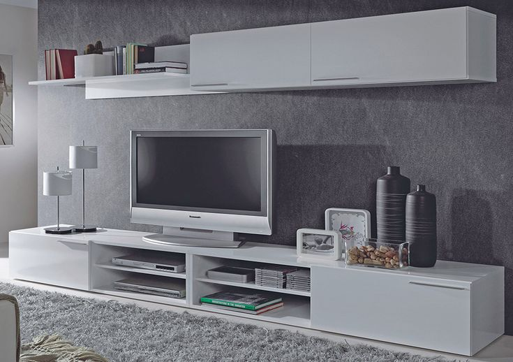 25 best ideas about tv shelving on pinterest industrial for Muebles minimalistas