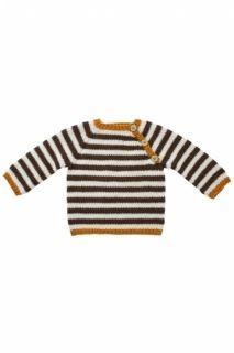 Baby Mönster 1353 Babyränder i gruppen GARN MÖNSTER / Onion Knit Fino Organic Cotton hos Hippstick (200014)