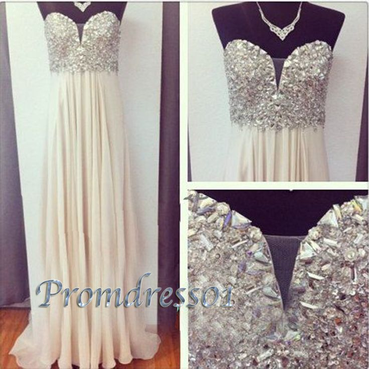 2015 sparkly light champange long prom dress, ball gown, homecoming dress, Cute+Dresses+For+Teens #promdress