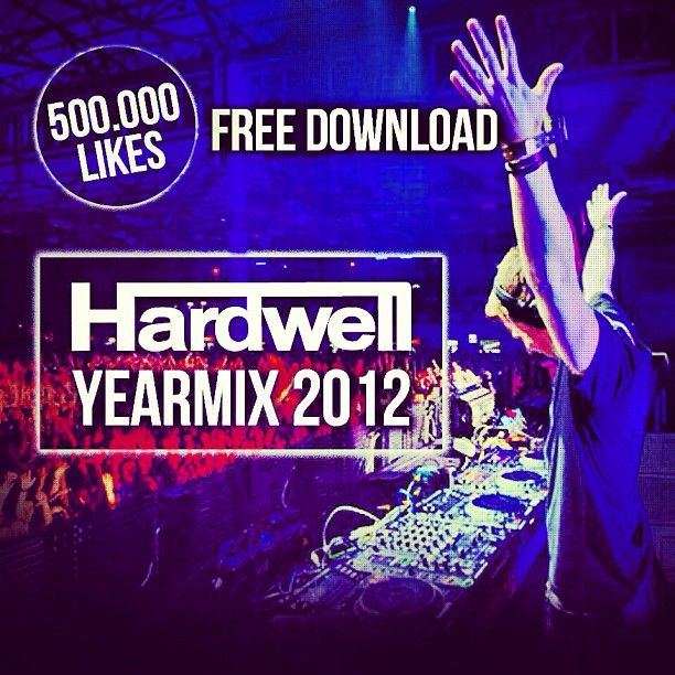 Hardwell promoting his year end mix on Instagram #hardwellonair #mrk634 #mix #edm