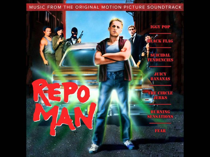 "Iggy Pop-""Repo Man"" from ""Repo Man Soundtrack"""