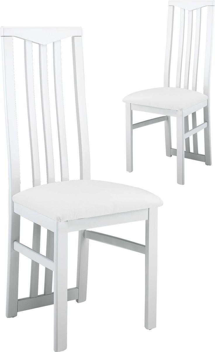 Lovely chaise blanche pas cher 14 lot de 2 chaises - Chaise blanche design pas cher ...
