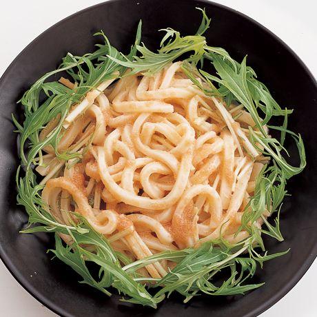 明太カルボうどん | 吉田瑞子さんのうどんの料理レシピ | プロの簡単料理レシピはレタスクラブネット
