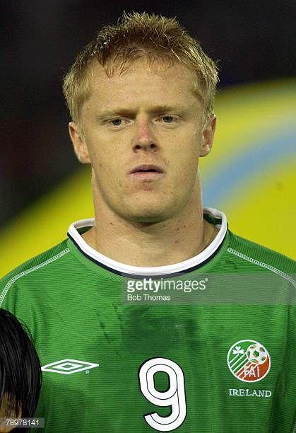 Football 2002 FIFA World Cup Finals Yokohama Japan 11th June 2002 Saudi Arabia 0 v Republic of Ireland 3 Damien Duff Ireland
