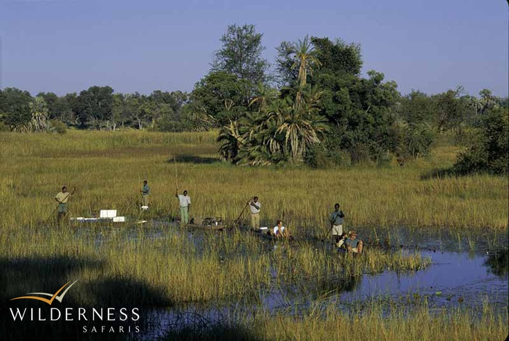 Humble beginnings – Mokoro trips through the Delta remain a firm favourite. Click on the image for the full story.