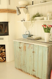 .: Open Shelves, Homestyle Accents Colors Etc, Kitchens Stuff, Soft Colors, Cupboards Colors, Country Kitchens, Rustic Shabby Kitchens, Rustic Kitchens Cupboards, Blue Cupboards