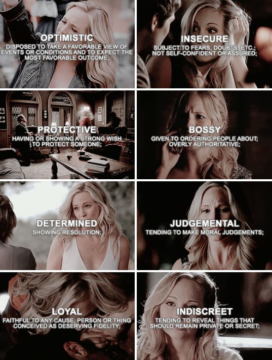 Caroline Forbes {by @pinterestparia}