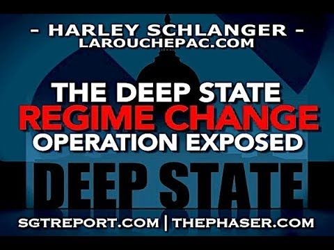 """DEEP STATE REGIME CHANGE OPERATION EXPOSED -- Harley Published on Aug 1, 2017- """"We're dealing with a coup, a regime change operation run by the same people who have done this over and over in Libya, in Ukraine, in Central America, these so called banana republics. They're turning the United States into a banana republic."""" -- Harley Schlanger"""
