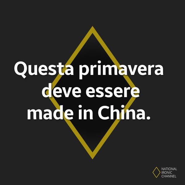 #humor #umorismo #italiano #ridere #citazioni #frasi #meme #divertente #ironia #china #primavera  https://www.facebook.com/nationalironicchannel