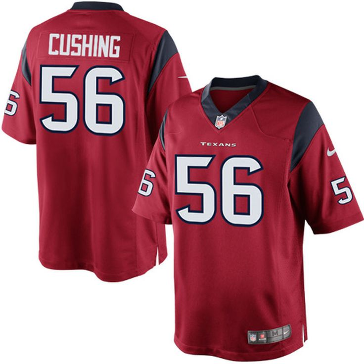 Brian Cushing Houston Texans Nike Alternate Limited Jersey - Red